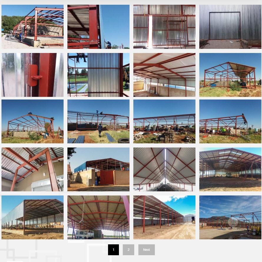 JMB Staalwerke CC website Gallery Page