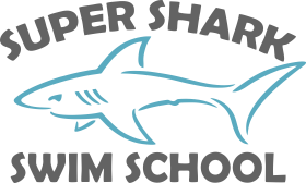 Super Shark Swim School Logo