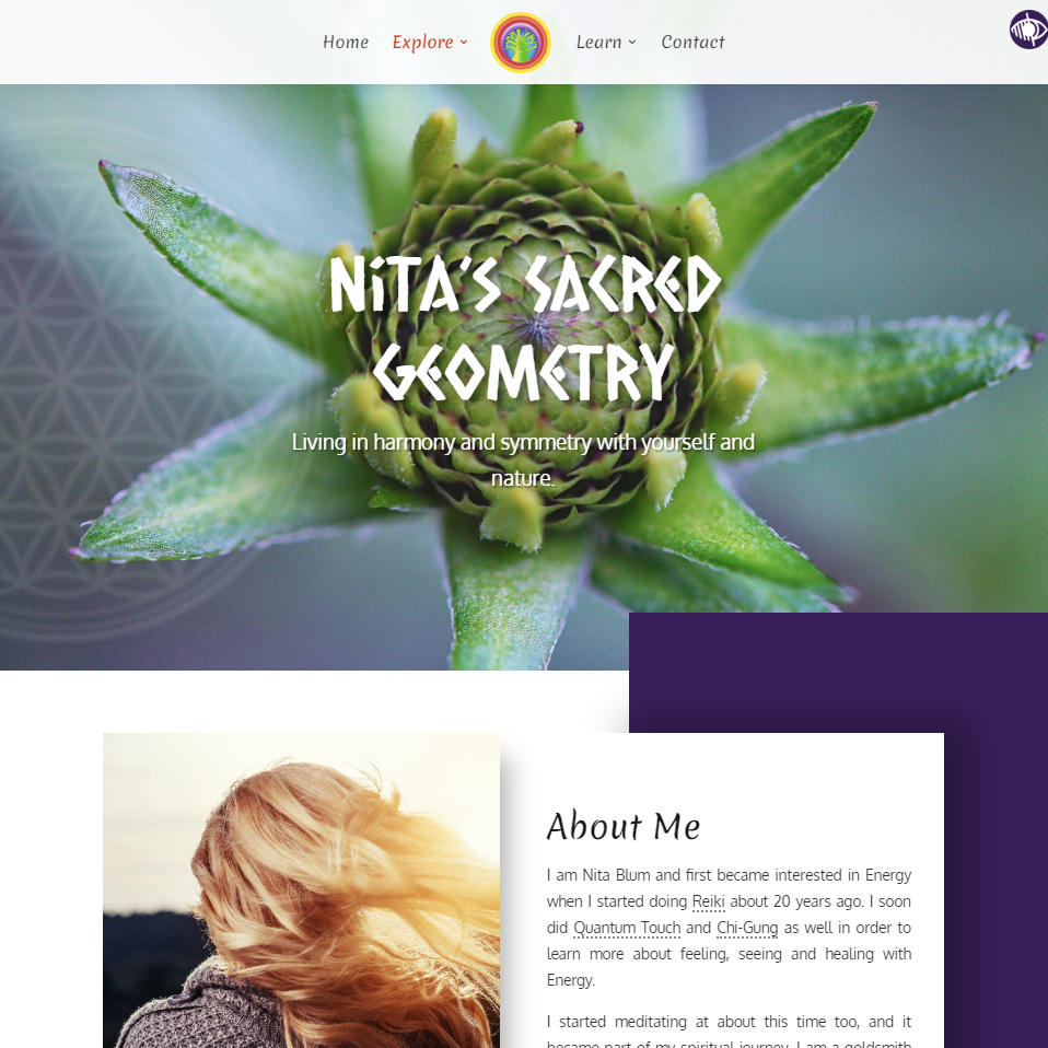 TREE Safaris website Sacred Geometry page